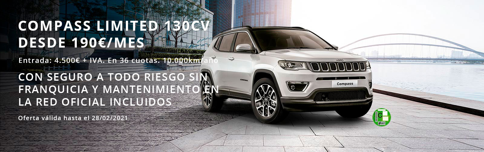 Oferta Jeep Compass Limited