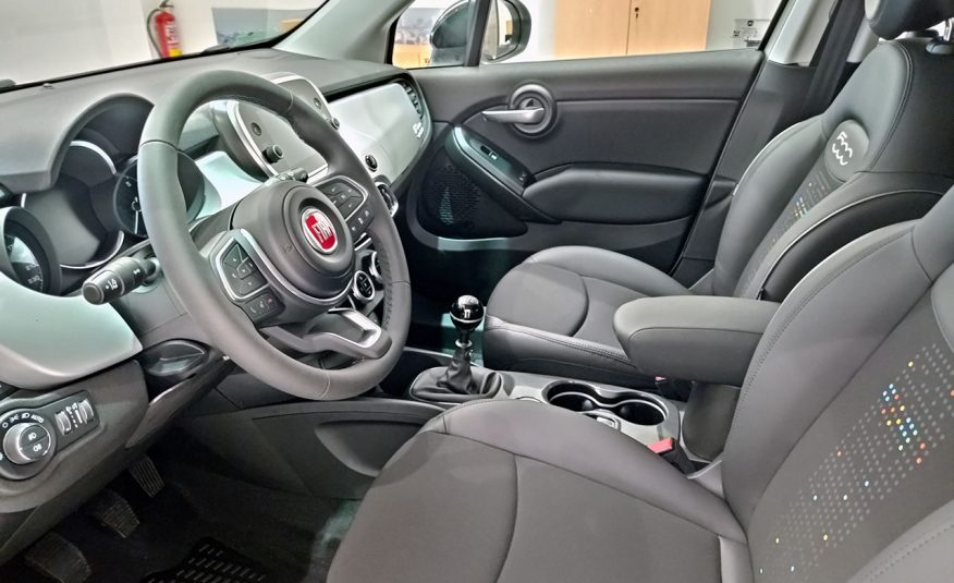 Fiat 500X Hey Google